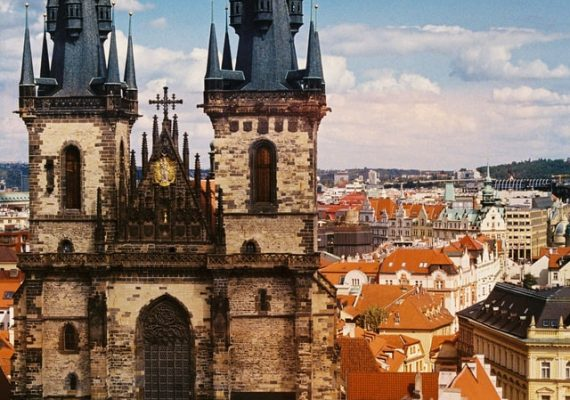 Eastern Europe has many cities which are still showing the facades of renaissance