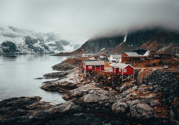 Typical Scandinavian scenery