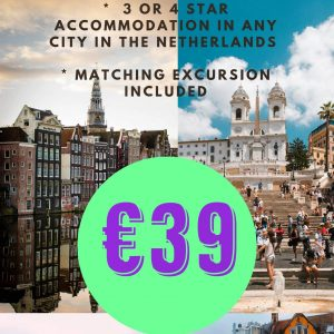 Weekend in Dutch city for 39 euros